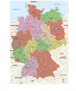 Allemagne fond de carte vectoriel illustrator eps