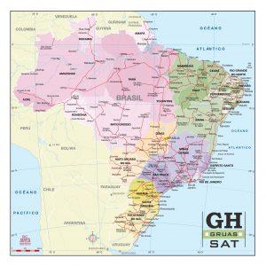 Brésil fond carte vectoriel illustrator eps