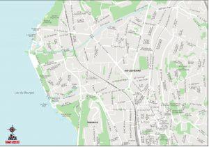 Aix les Bains plan de villa fond de carte vectoriel illustrator eps